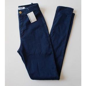 American Apparel easy jean dark wash indigo
